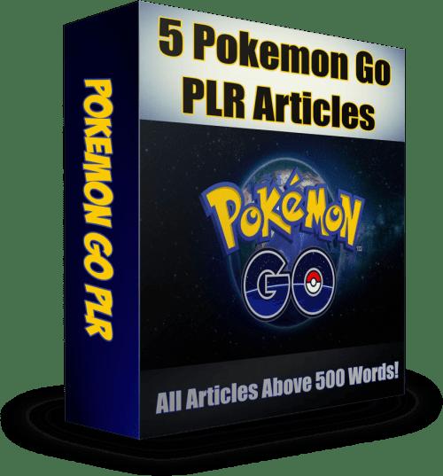 Pokémon Go PLR eCover