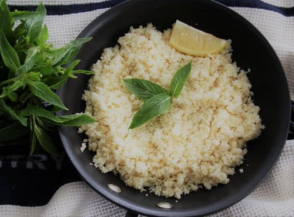 10 Minute Cauliflower Rice