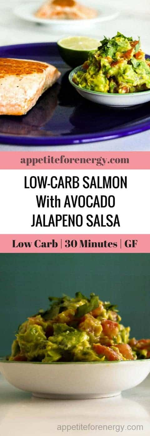 This dish combines Mexican flavors with the richness of salmon and finishes with a spicy kick from the jalapenos! Ready in just over 20 minutes.