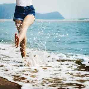 Walk on beach