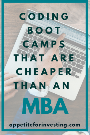 Coding Bootcamps that are Cheaper than an MBA