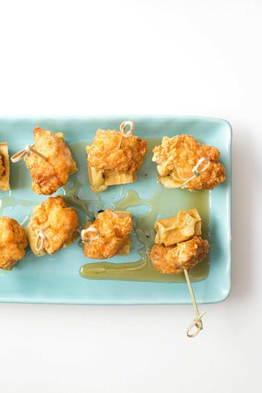 Mini Fried Chicken and Waffles | Appetites Anonymous