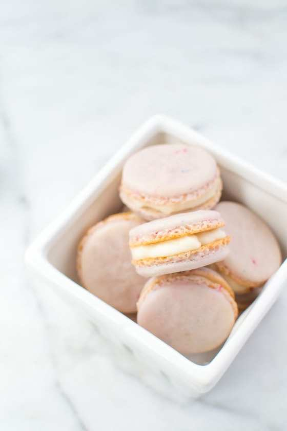 french macarons with buttercream   Appetites Anonymous