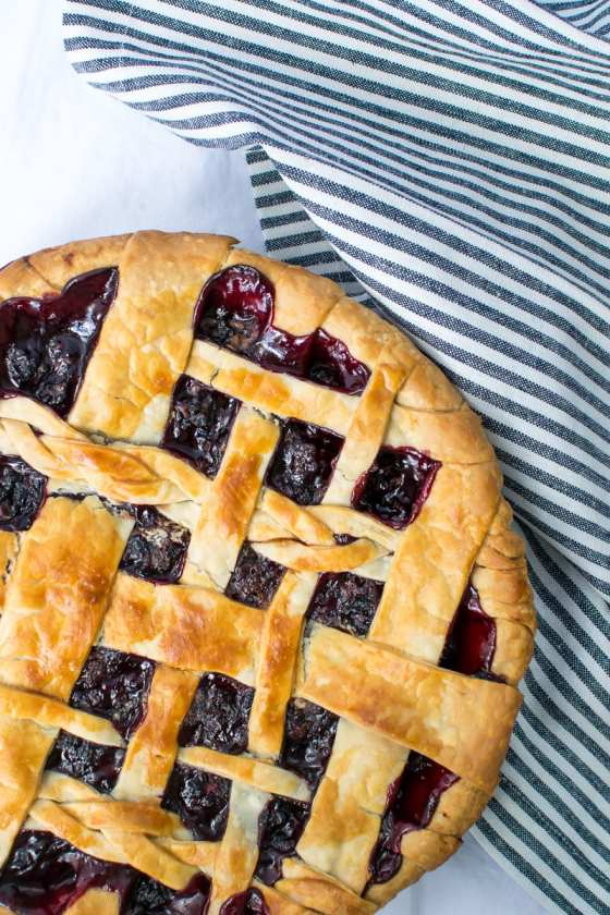 blackberry lemon pie | Appetites Anonymous