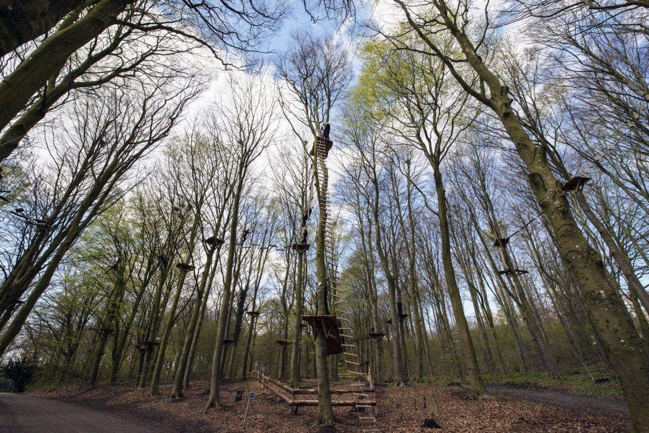 Klatreparken – Trætoppe