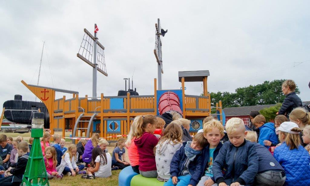Ny maritim legeplads i Aalborg Vestby