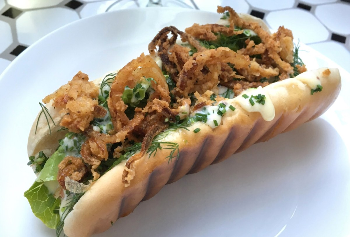 Lobster-roll -  Jomfruhummer hotdog