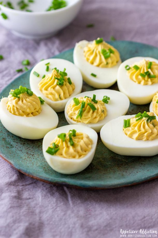 Wasabi Deviled Eggs Appetizers
