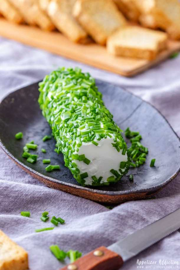 Goat Cheese Log with Chives