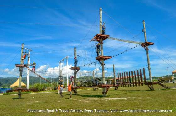 Aerial Walk Sandbox Porac 1 Wide Shot -005
