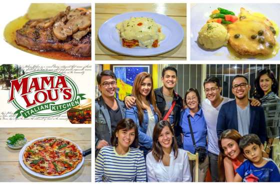 Mama Lou's Italian Kitchen Las Pinas collage 1