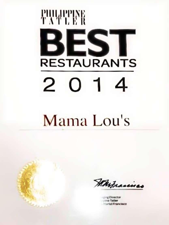 Las Pinas\' Best Restaurant is… – Appetizing Adventure