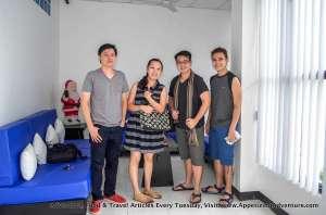 (L-R) Atty. Redgie Lacanilao, Kristine Go-Lacanilao, Carlo Lorenzo, John Kuizon