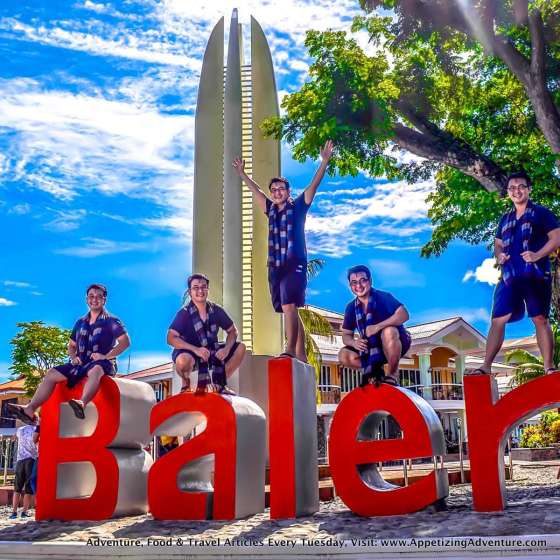Baler 400 Years Monument and Baler Sign -053