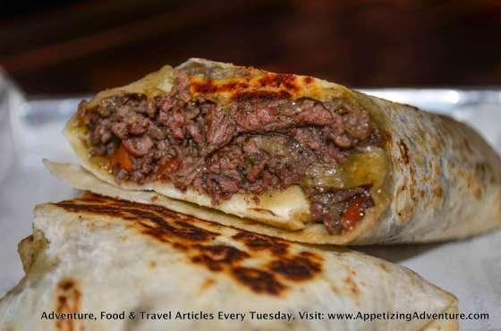 Carne Asada Wrap Php325