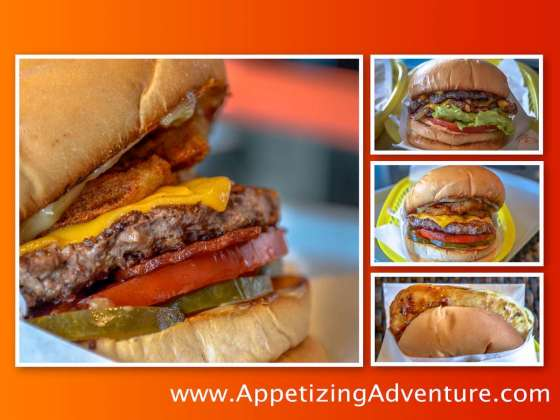 Caliburger Century City Mall top three burgers