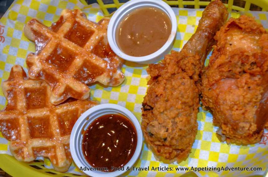 Chicken and Waffle Php249