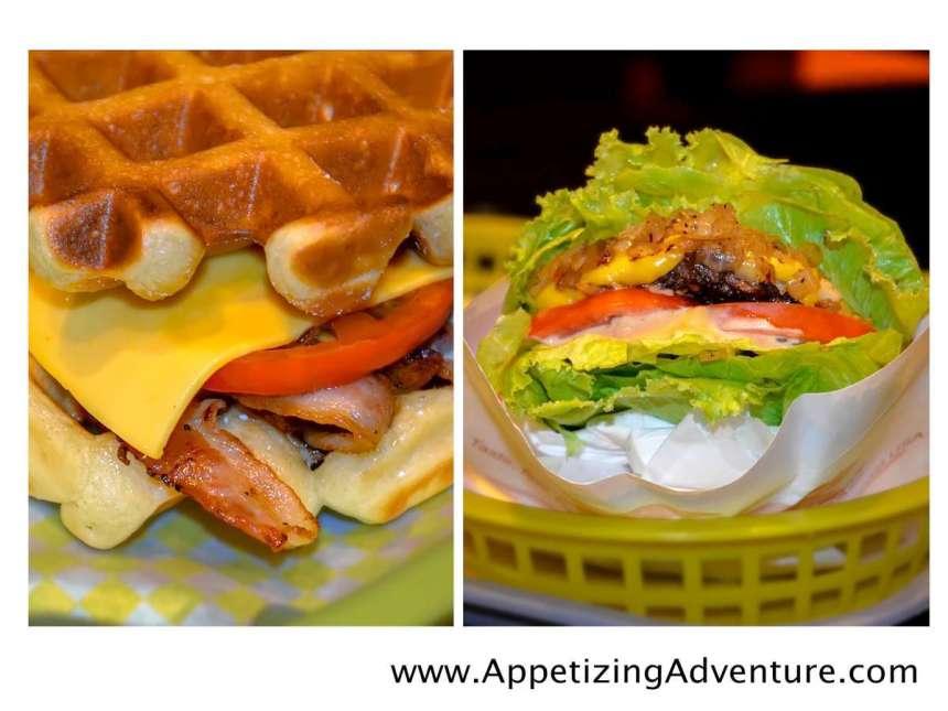 Caliburger Waffle and Secret Menu