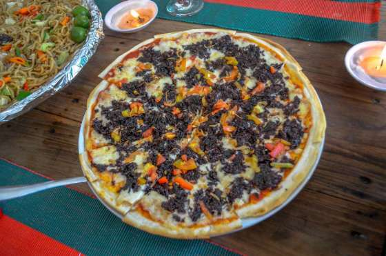 Gamet (Organic Nori) Pizza Php395