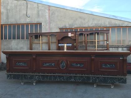 Comptoir De Bar Retro Old Pub Style 4m55 X 1m90 Occasion 9 950 00 Ht
