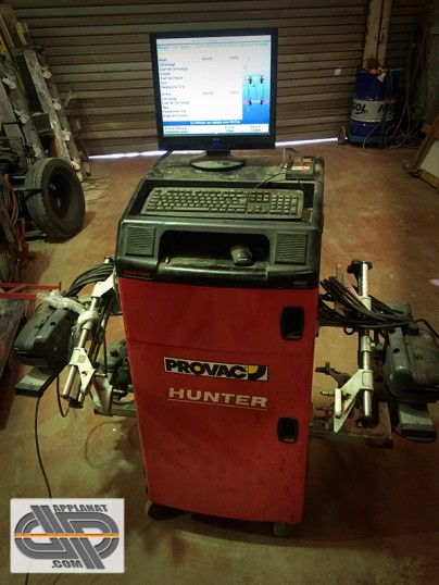 Banc De Gometrie PROVAC Hunter PA100 Pro Align
