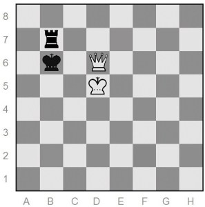 White moved Qd6+
