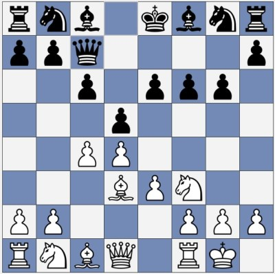 White has a clear positional advantage
