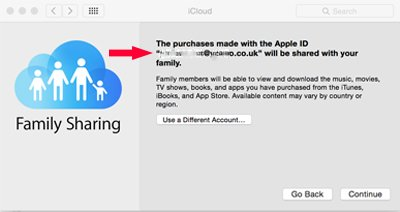 how to download family share apps
