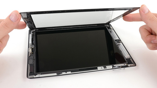 reparatii ipad 4 display