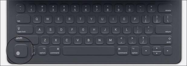 اختصارات لوحة المفاتيح الذكيّة على iPad Pro