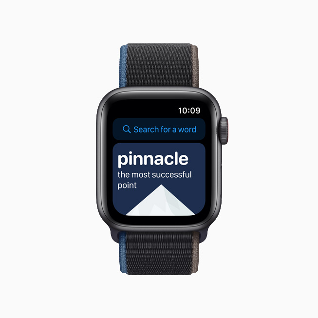 LookUp: English Dictionary kids app on Apple Watch.
