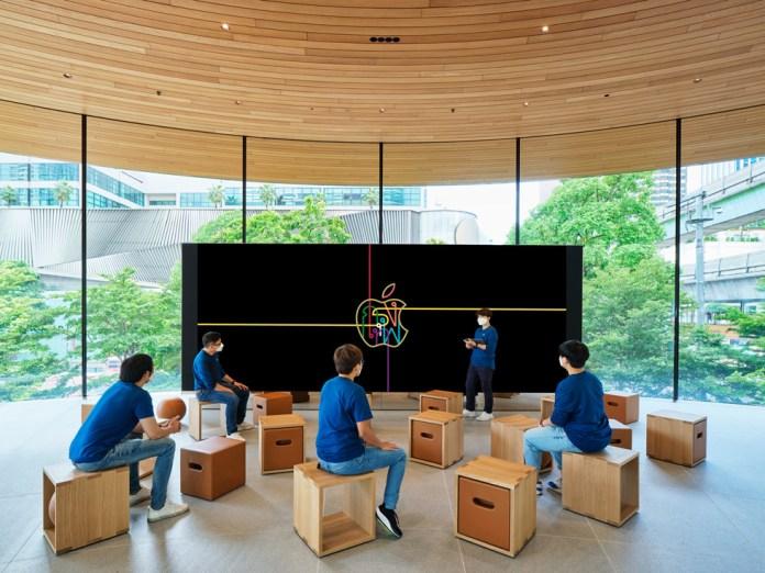 Il Video Wall del Forum di Apple Centrale World.