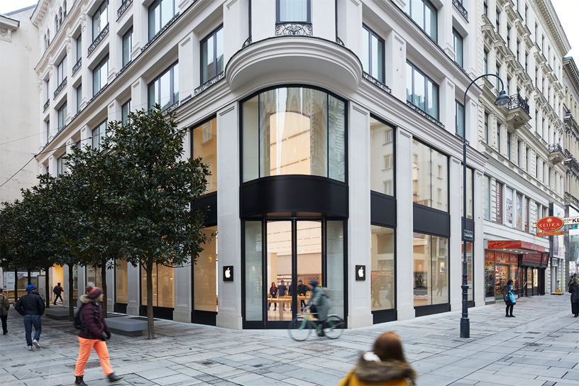 Apple opens its first store in Austria Saturday   Apple Apple K    rntner Stra    e is located on the famous pedestrian shopping street  between St  Stephen s Cathedral and the Vienna State Opera