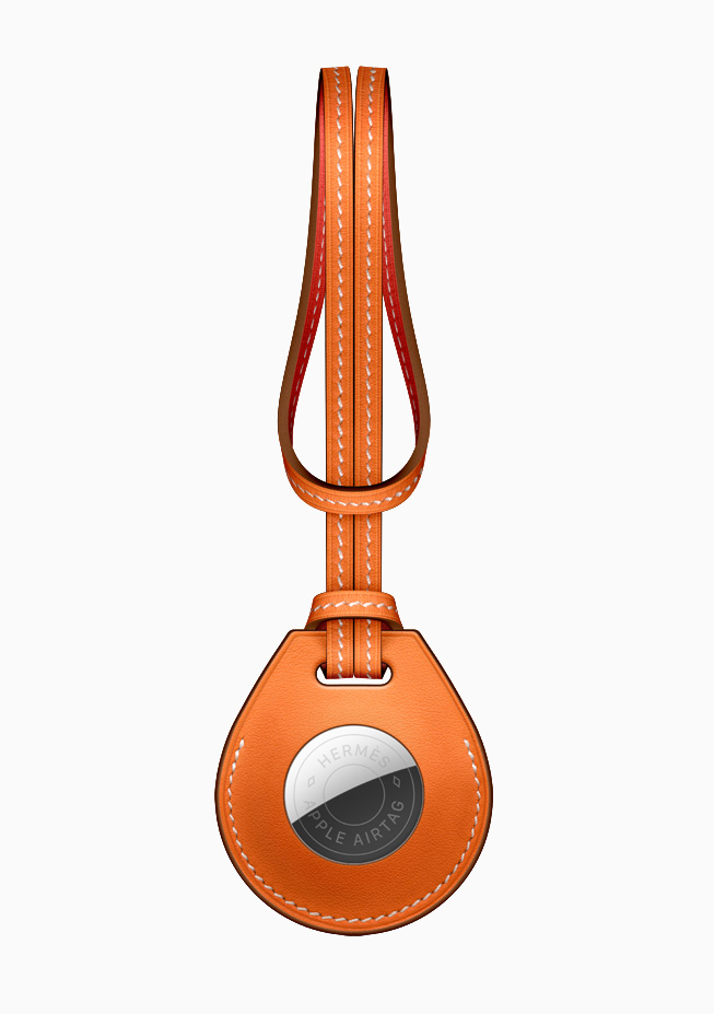 AirTag Hermèsのバッグチャーム。
