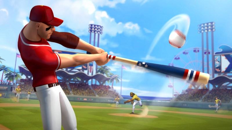 """Ballistic Baseball"" de Gameloft en Apple Arcade."