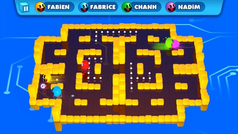 """Captura de pantalla de """"PAC-MAN PARTY ROYALE"""" de Bandai Namco."""