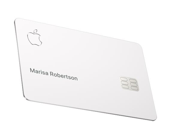 Titanium Apple Card.