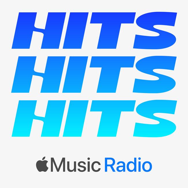 Illustrazione stazione radio per Apple Music Hits.
