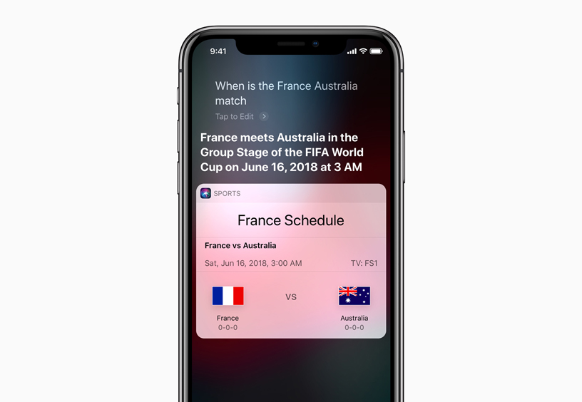 Football fans can get the latest on World Cup across Apple devices     Football fans can get the latest on World Cup across Apple devices and  services