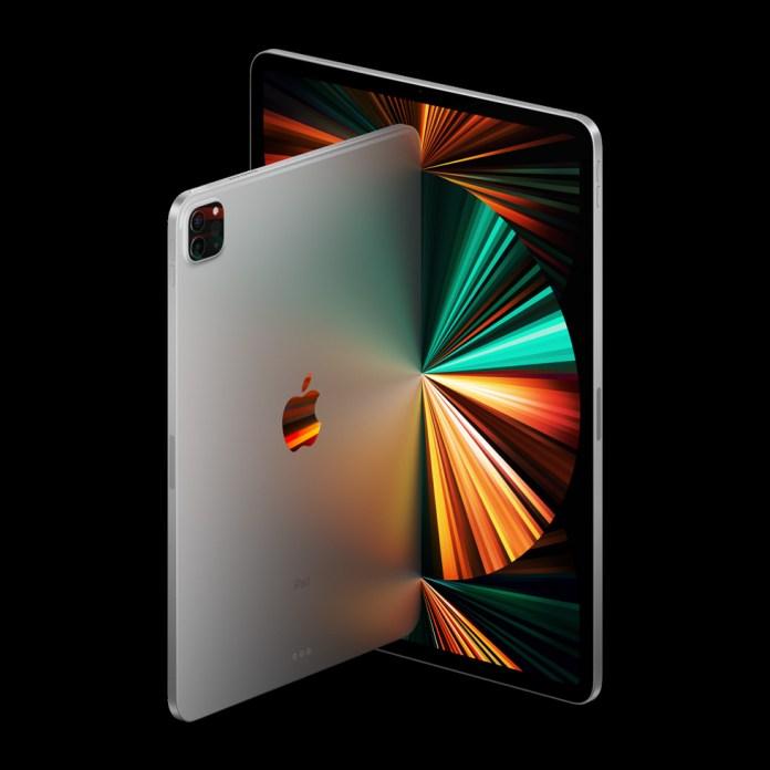 The new iPad Pro with Liquid Retina XDR display.