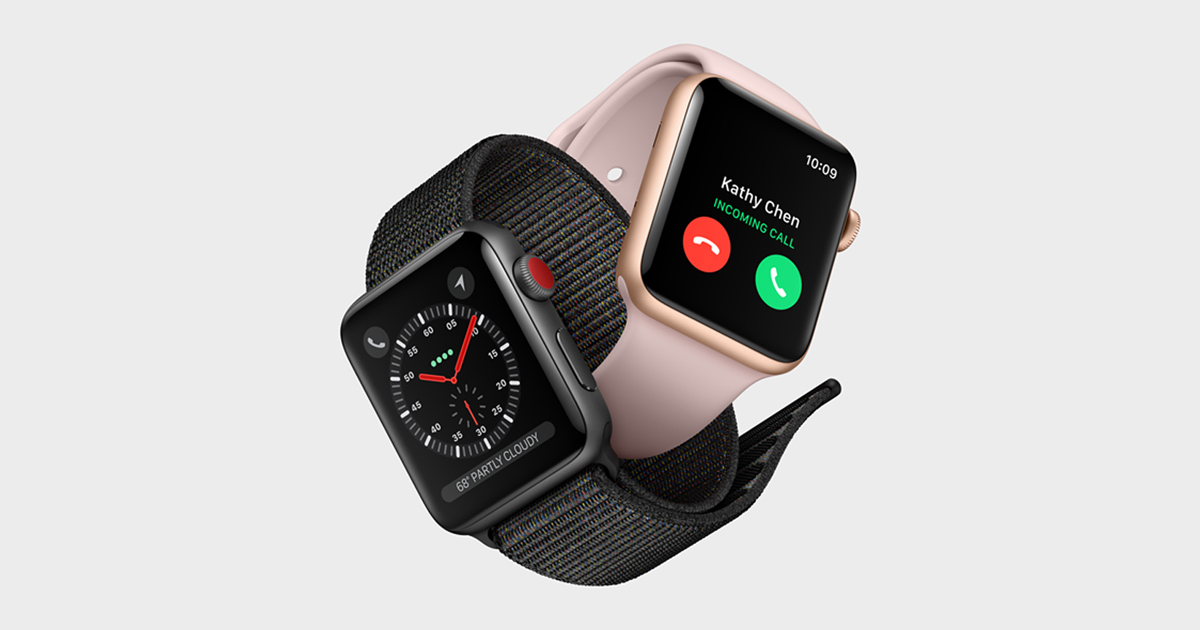 Apple Watch Series 3 features built in cellular and more   Apple  UK