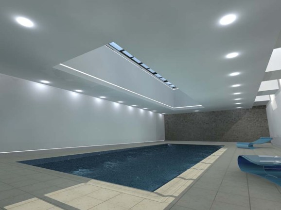 3D Visualisation of pool