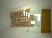 3D Visualisation of stairway