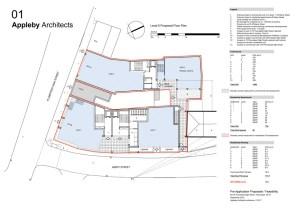 Level 0 proposed floor plan