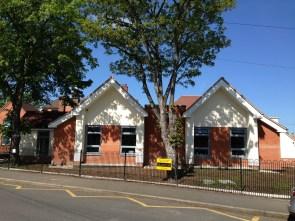 New school exterior