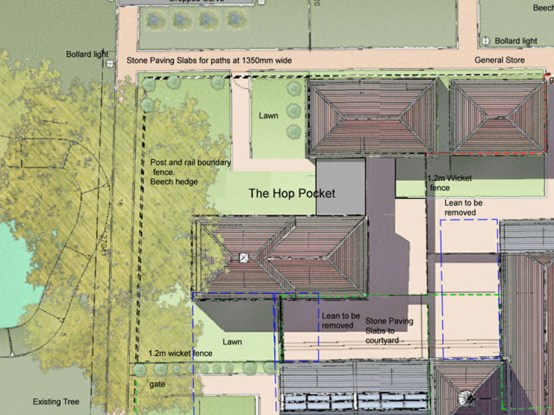 Roof plan illustration