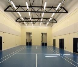 New sports hall