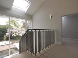 Stairway & skylight