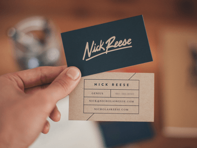 6 Business Cards Tips to Strengthen Your Brand