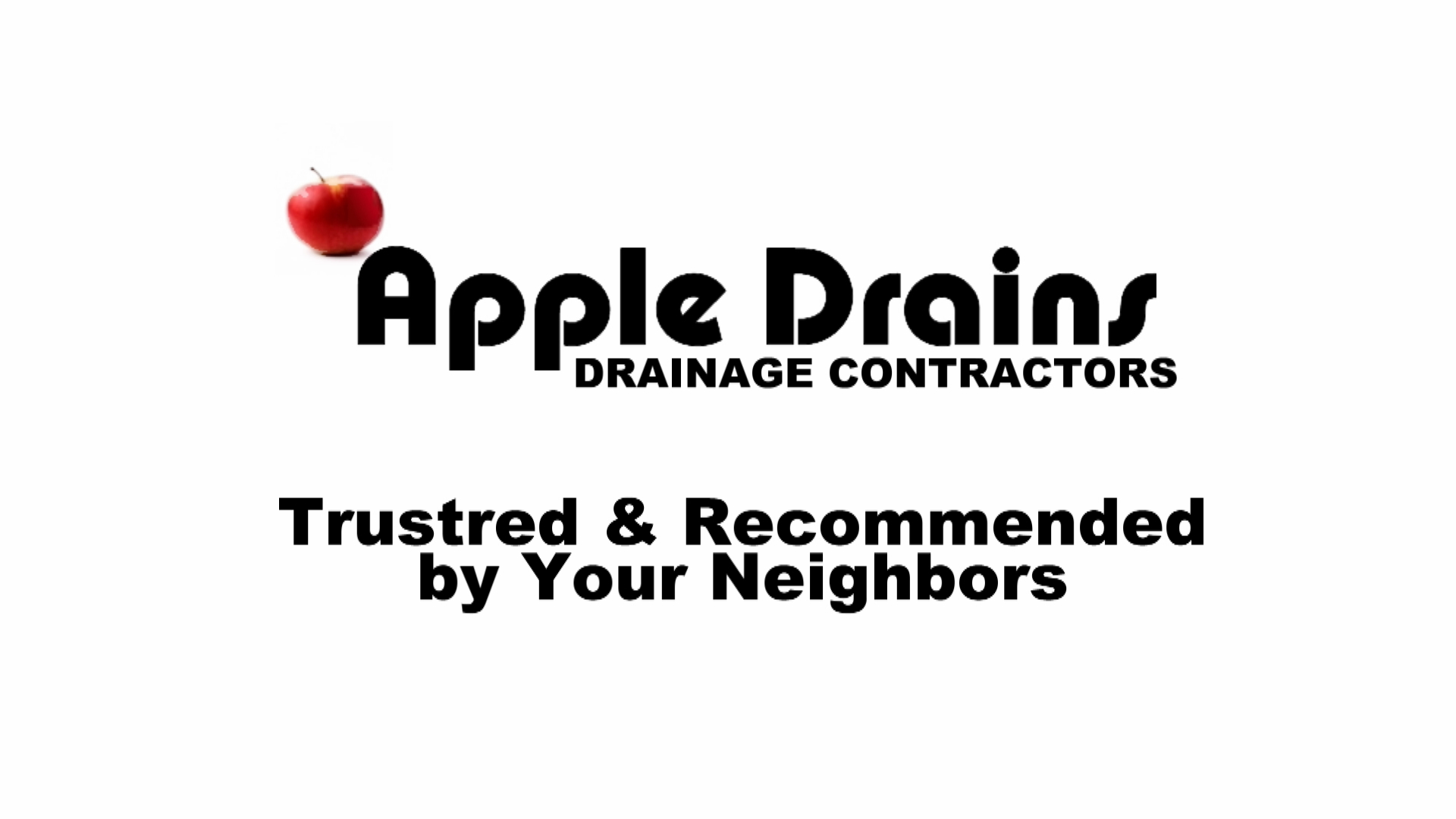 Apple Drains Florida Drain Specialists French Drain Yard